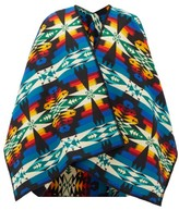 Pendleton Tucson Wool-blend Cape - Womens - Black Multi