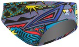"TYR Whaam All Over 3"" Racer Brief Swimsuit 8145525"