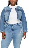 Evans Women's Shacket Denim Jacket