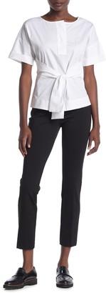 Donna Karan Woman Side Zip Skinny Pants