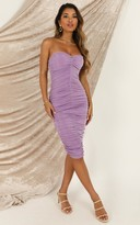 Showpo Stay in Touch Dress In lilac - 6 (XS) The Influencer Trend