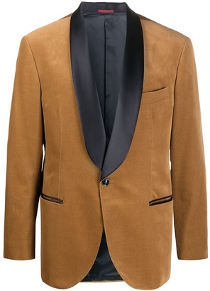 Brunello Cucinelli Contrasting Lapel Dinner Suit