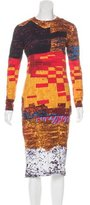 Givenchy Printed Midi Dress w/ Tags
