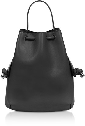 Meli-Melo Black Nappa Briony Mini Backpack
