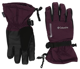 Columbia Bugabootm Interchange Gloves (Black Cherry) Extreme Cold Weather Gloves
