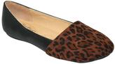 Black & Brown Leopard Flat