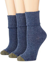 Gold Toe GoldToe 3-pk. Bermuda Casual Socks