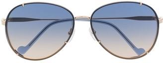 Liu Jo Aviator-Frame Sunglasses