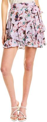 IRO Ruffle Wrap Skirt