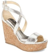 Jimmy Choo Women's Portia Platform Wedge Sandal