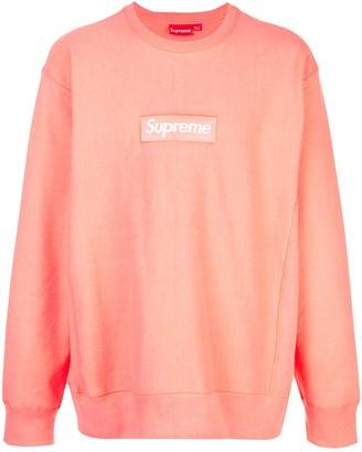 Supreme Box Logo Crew Neck Sweatshirt