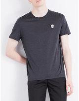 Alexander Mcqueen Skull-detail Cotton-jersey T-shirt