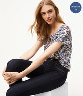 LOFT Tall Modern Skinny Jeans in Dark Rinse Wash