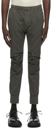 Julius Khaki Frayed Knee Lounge Pants