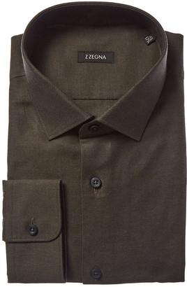 Ermenegildo Zegna Slim Fit Dress Shirt