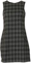 Izabel London Tartan Print Shift Dress