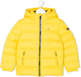 Tommy Hilfiger Junior - hood padded jacket - kids - Feather Down/Polyester/Feather - 2 yrs