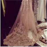 EllieHouse Women's Lace Chapel Wedding Bridal Veil With Free Comb E21