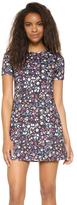 Cynthia Rowley Bonded Mini Floral Dress