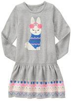 Gymboree Bunny Sweater Dress