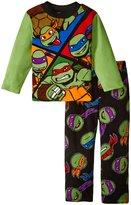 """Teenage Mutant Ninja Turtles Big Boys' """"Ninja Squad"""" 2-Piece Pajamas"""