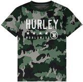 """Hurley Boys 4-7 Worldwide"""" Graphic Tee"""