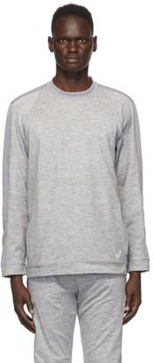Asics Grey Thermopolis Fleece Sweatshirt