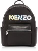 Kenzo Black Neoprene Kombo Backpack