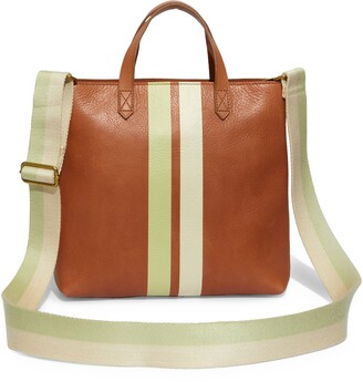 Madewell Striped Transport Crossbody Bag