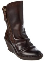 Fly London Women's Simi Leather & Suede Wedge Boot.
