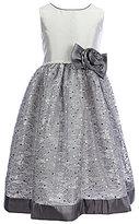 Jayne Copeland Little Girls 2T-6X Floral-Sequin Dress