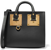 Sophie Hulme Albion Box Mini Leather Shoulder Bag - Black