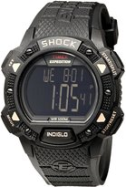 Timex Men's T49896 Expedition Digital Shock CAT Resin Strap Watch