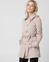 Le Château Cotton Blend Asymmetrical Coat