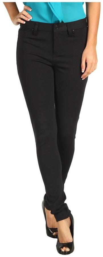 Calvin Klein Jeans 5 Pocket Ponte (Black) - Apparel