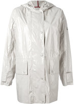 Moncler Navet raincoat - women - Cotton - 3