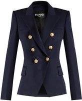 Balmain Double-breasted wool blazer