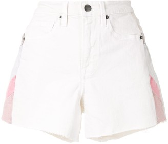 Frame Le Brigette colour-block shorts