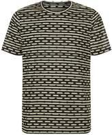 Burberry Spot and Stripe T-Shirt, Navy, XXL