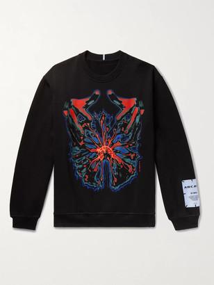 McQ Printed Loopback Cotton-Jersey Sweatshirt