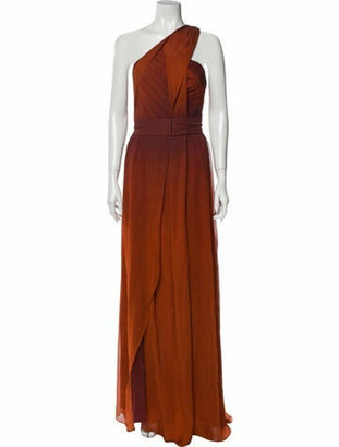 Narciso Rodriguez 2020 Long Dress w/ Tags Orange