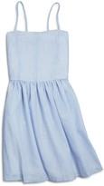 Aqua Girls' Seersucker Dress, Big Kid - 100% Exclusive