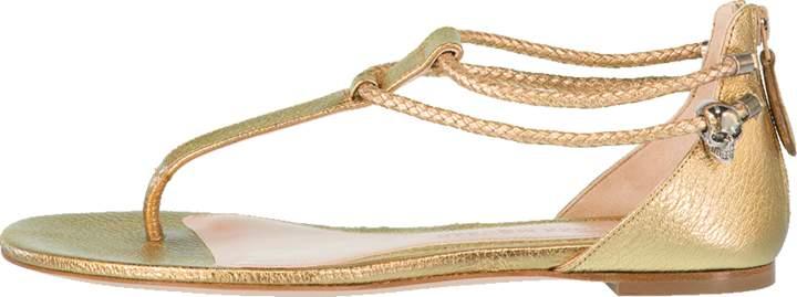 Alexander McQueen Thong Sandal