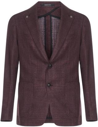 Tagliatore Montecarlo Virgin Wool And Silk Blazer
