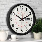 Asstd National Brand FirsTime Day Date Wall Clock
