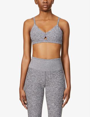 Alo Yoga Alosoft Lounge stretch-jersey sports bra