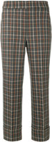 Incotex checked trousers