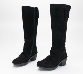 Fly London Suede Tall Shaft Boots - Waki