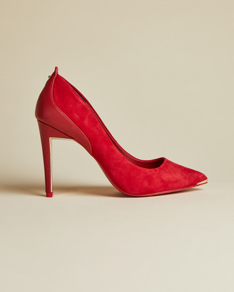 Ted Baker STEPHS Suede and leather courts