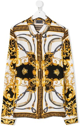Versace Chain Print Shirt